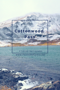Cottonwood Pass - Pin me