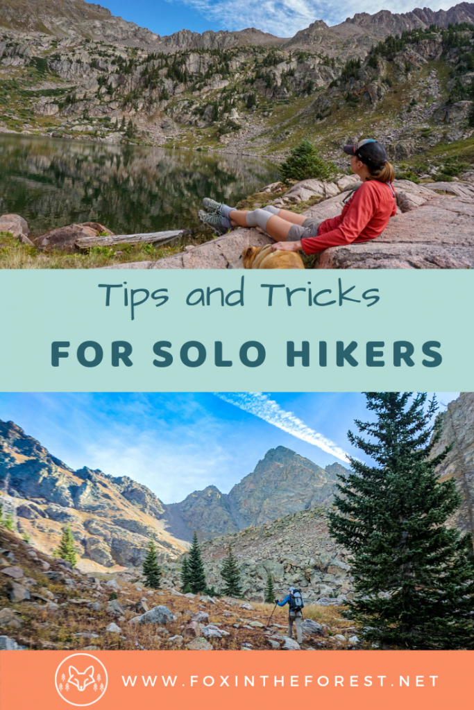 Safety tips and tricks for solo hikers. Travel alone and go on a solo hike. Tips for your first backpacking holiday, solo hike adventure. #hiking #solotravel