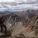 false summit of Mt Guyot