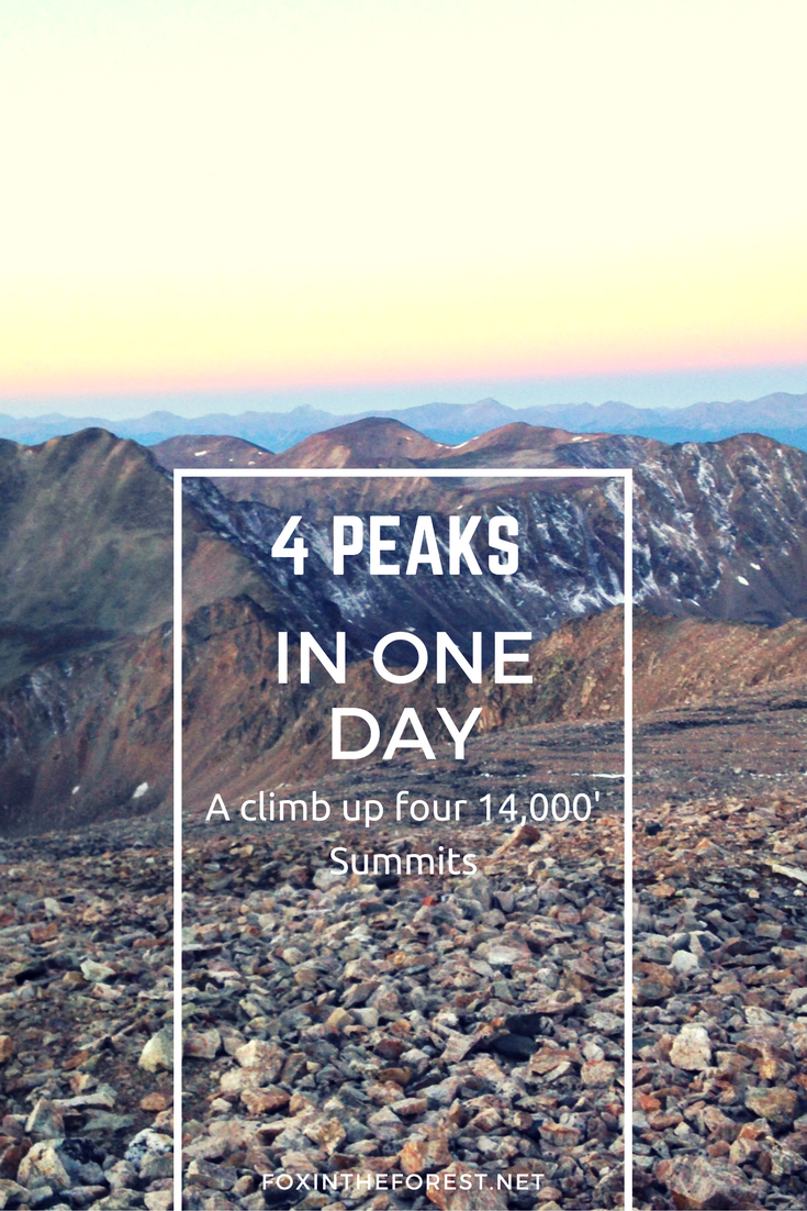 Colorado 14er - Hike 4 Colorado 14ers in one day on this epic 7.5 mile challenge!