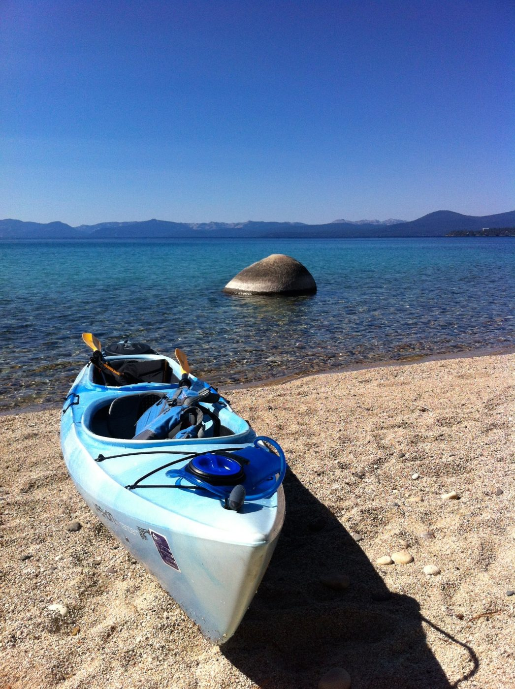 Tahoe like a local - Kayak