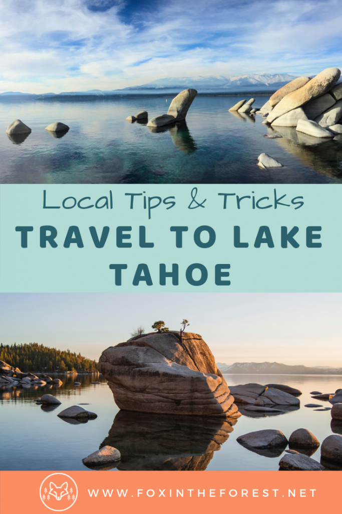 Insider's guide to visiting Lake Tahoe. Planning a vacation to Lake Tahoe. Tips for visiting Lake Tahoe. #california #nevada #travel