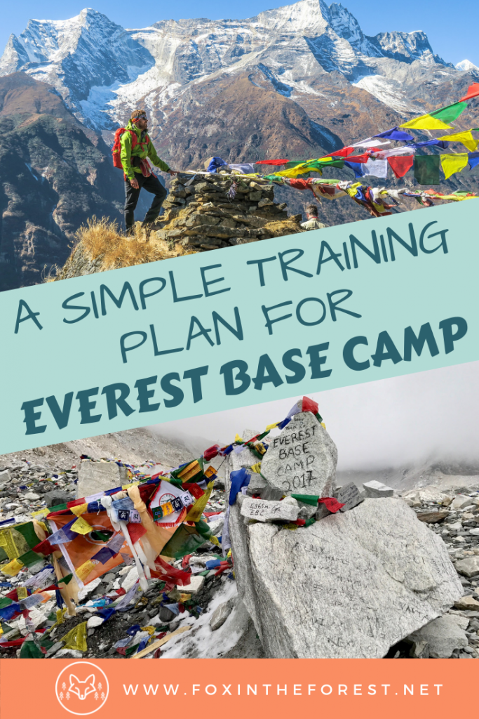 The complete guide to training for your Everest Base Camp trek. What to expect for trekking in Nepal. Effective trekking training tips for visiting Mount Everest. Travel to Everest Base Camp with these training tips. #nepal #travel #hiking #himalaya