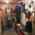 DIY Gear Room - completed