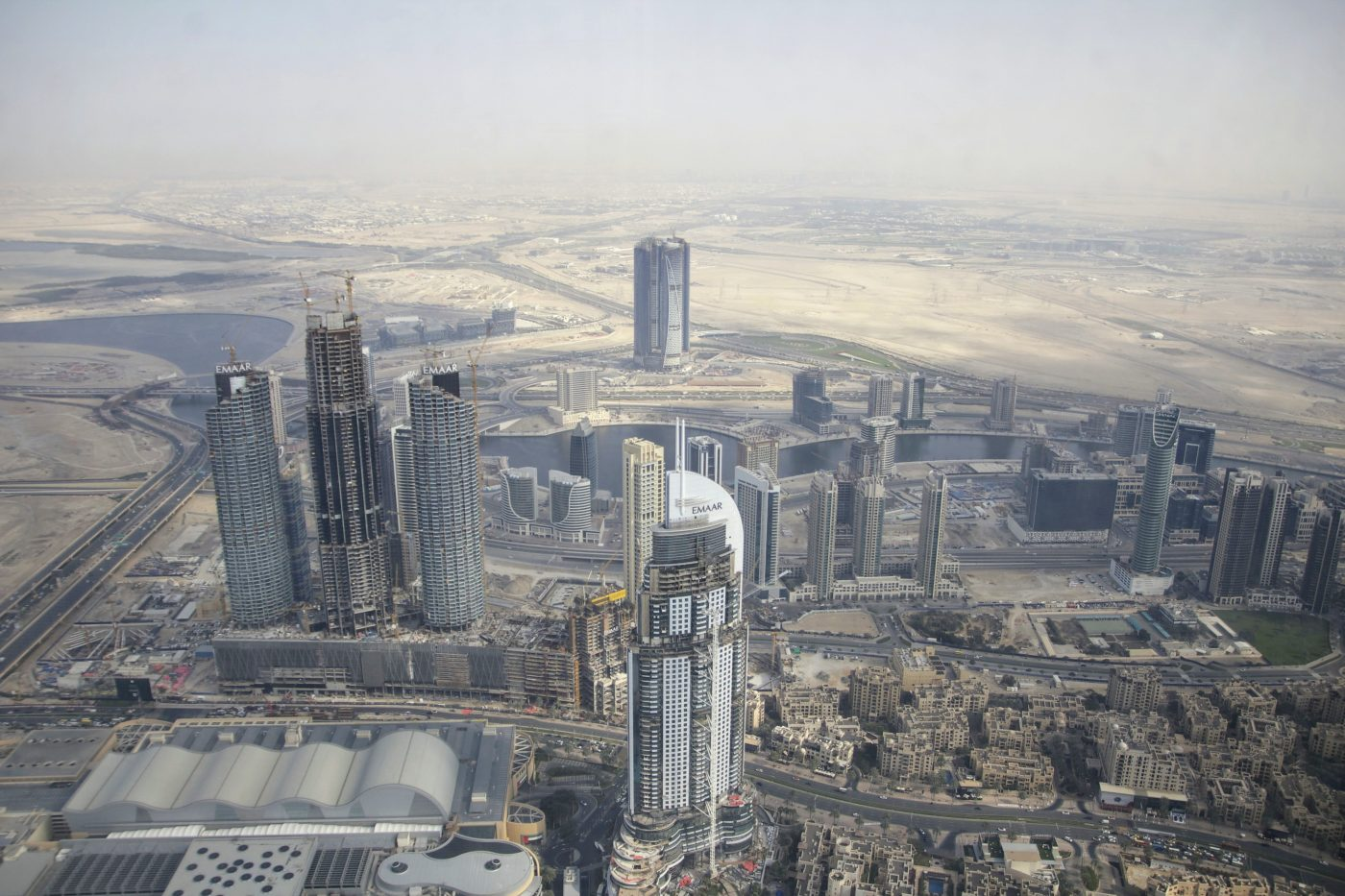 View Top of the Burj Kalifa