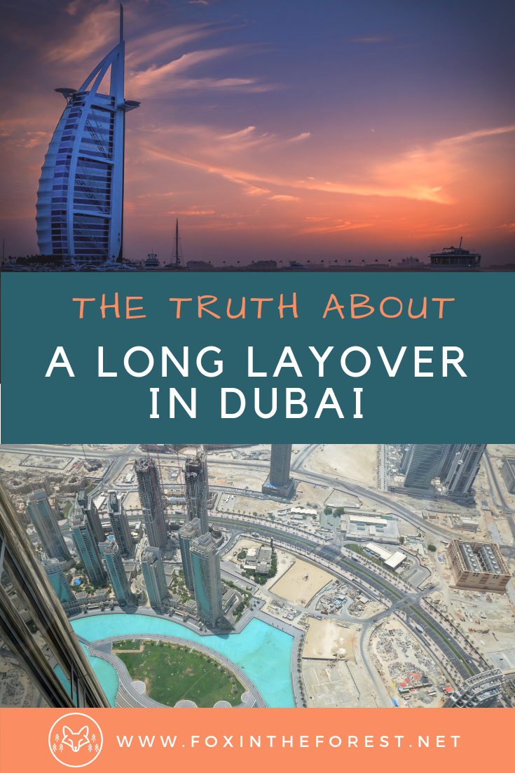 Do you have a layover in Dubai? Here's what you need to know about a long layover in Dubai. Is it worth it to leave the airport in Dubai? The truth about visiting Dubia. #UEA #Travel #Dubai