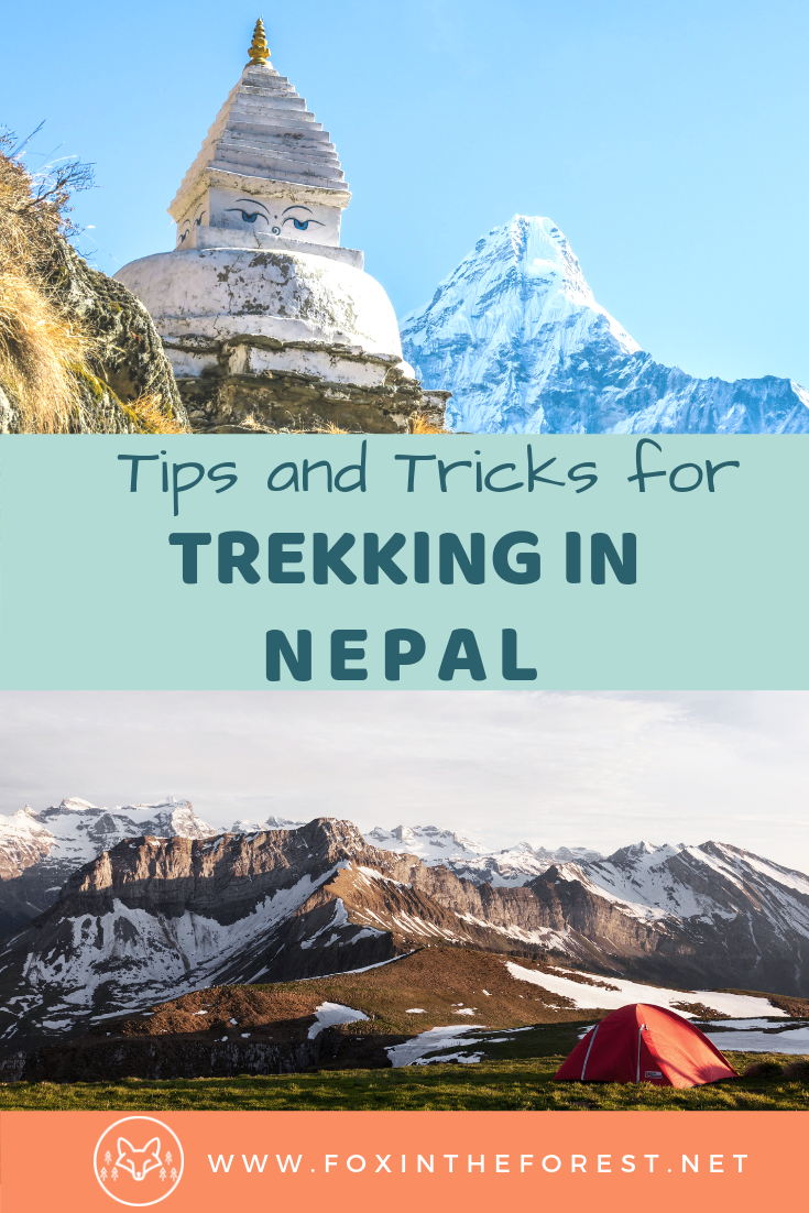 Tips and tricks for your trip to Nepal. Tips for Everest Base Camp trek. How to hire a local trekking guide in Nepal. Best way to prepare for a trek. How to trek safely in Nepal. #nepaltravel #hiking #trekking #himalaya