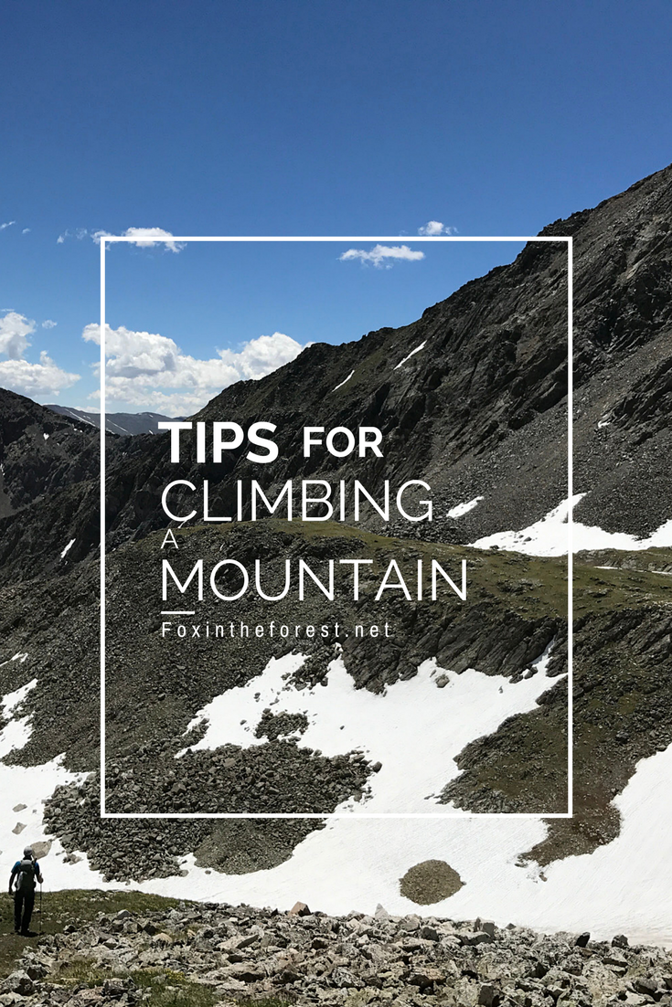 If it's your 100th 14er or your first time on the mountain these tips will help you mentally prepare for your climb. Inspired by Colorado's famed 14ers, this post goes beyond packing lists. Use these helpful tips to mentally prepare for your climb.