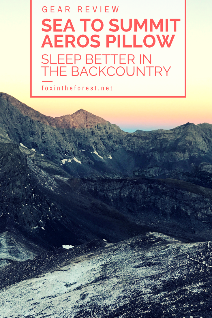 The Sea to Summit Aeros pillow combines comfort, durability and weight for the ultimate backcountry pillow. However, does it live up to the hype of other uses? Read this unsponsored review to find out. Camping pillow   Backpacking Pillow   Sea to Summit gear review   Travel Pillow