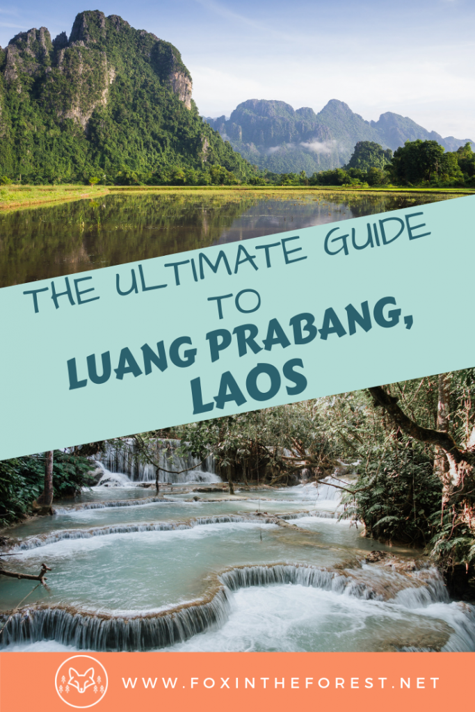 Complete guide to Luang Prabang, Laos. Things to do in Luang Prabang including the best night market, architecture, waterfall, temples and food in Luang Prabang. A look at excellent photography spots in Luang Prabang. #Laos #Asia #travel