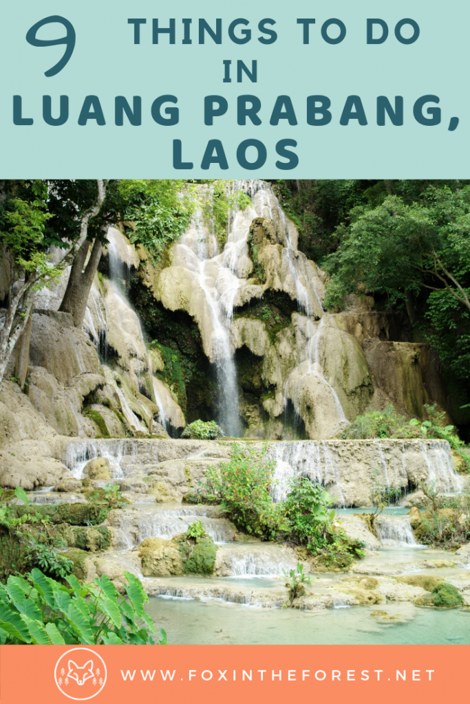 Things to do in Luang Prabang, Laos. Best night markets, food, waterfalls, and photography spots in Luang Prabang, Laos. Travel tips for Luang Prabang. #Asia #travel