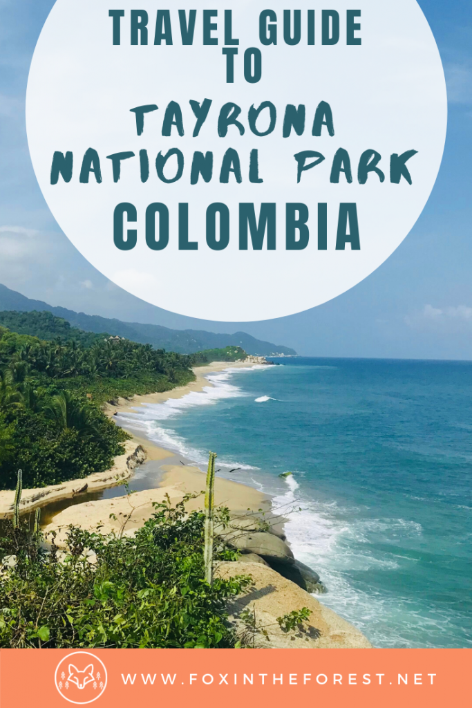 Guide to visiting Tayrona National Park in Colombia. How to spend one day in Tayrona National Park including the best places to camp and best hotels. Best hiking trails and things to do in Tayrona National Park, Colombia. #colombia #travel #camping