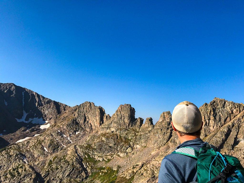 mountaineering slang
