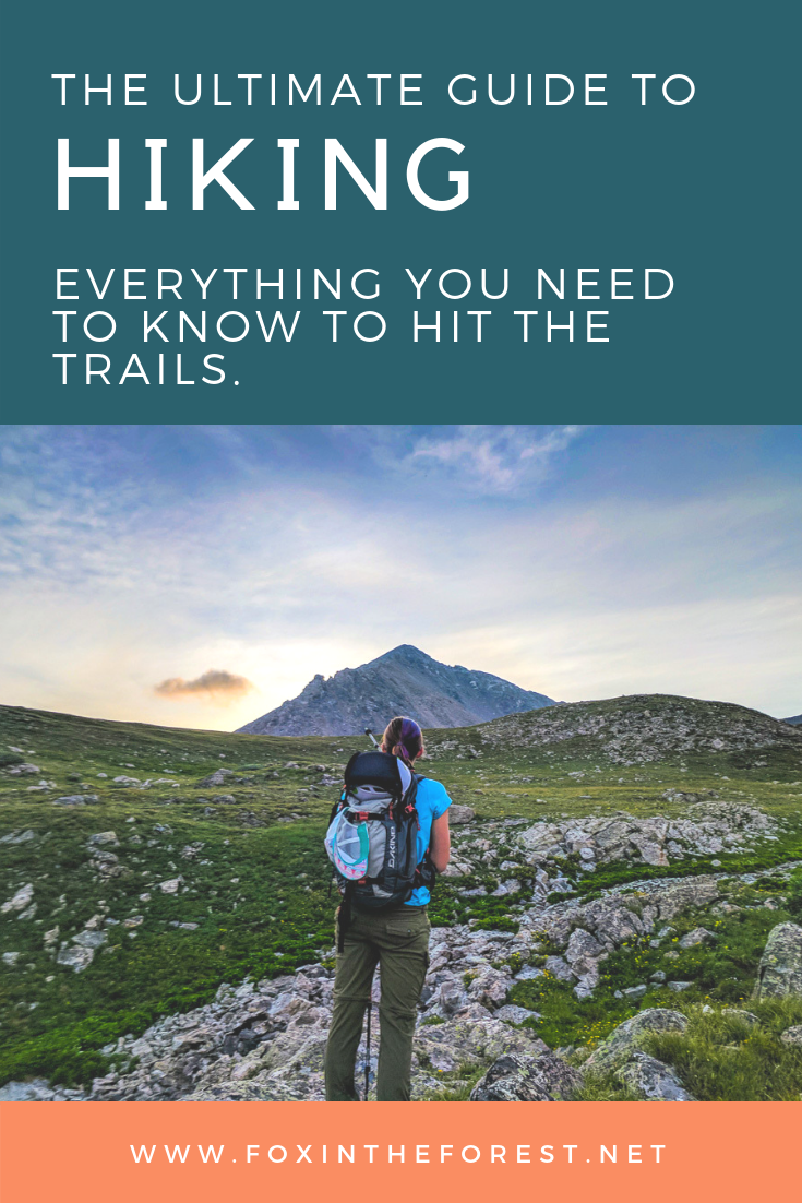 The ultimate guide to hiking for both beginners and advanced hikers. Learn how to plan a hike, how to train for a hike, what gear you need and how to advance your hiking skills. #outdoorskills #hiking #hikingskills #hikingtips