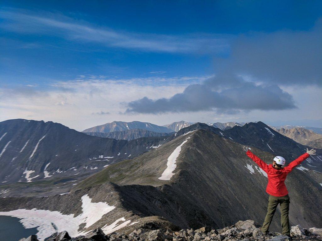 summit of pacific peak