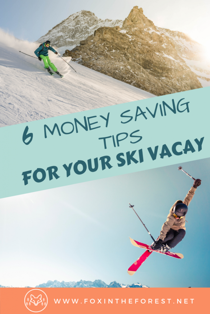 How to save money on your next ski vacation. Budget-friendly ski vacation guide. Ideas on how to save money for your next ski vacation. #ski #winter #travel #budgettravel