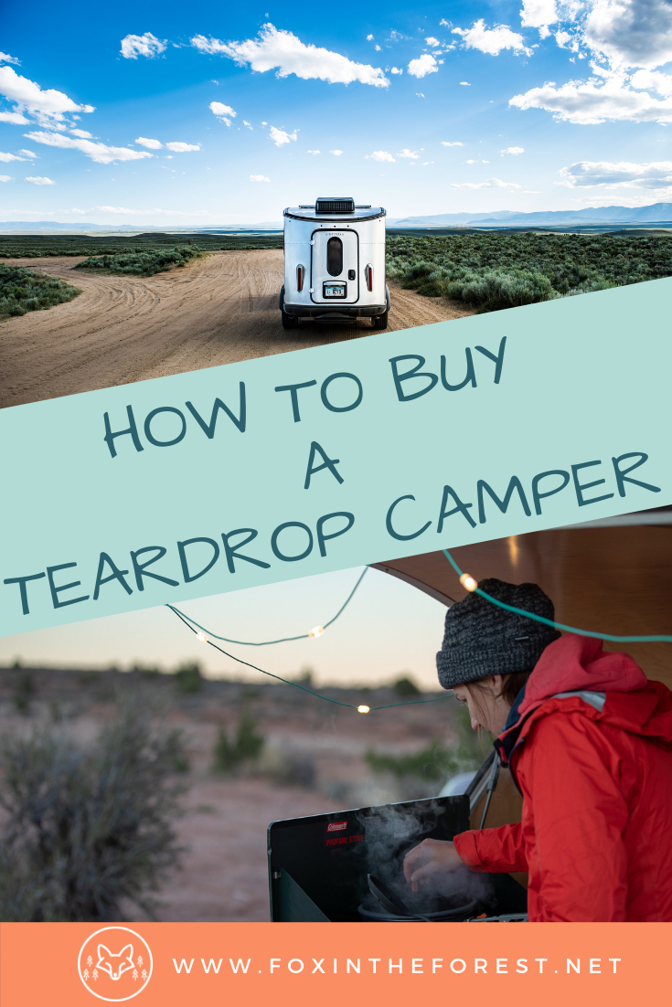How to buy a teardrop camper. What to look for when purchasing a travel trailer. Tips for buying a camper. How to find a good deal on a camper, travel trailer, RV, and teardrop camper #teardropcamper #camper #camping #outdoors #rv #buyinganrv