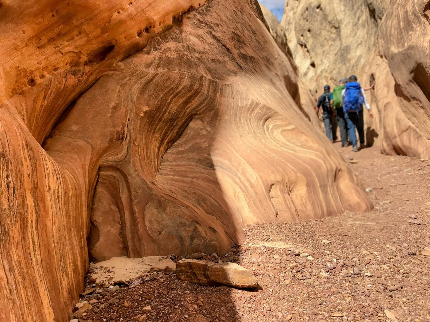 canyoneering in the san rafael swell