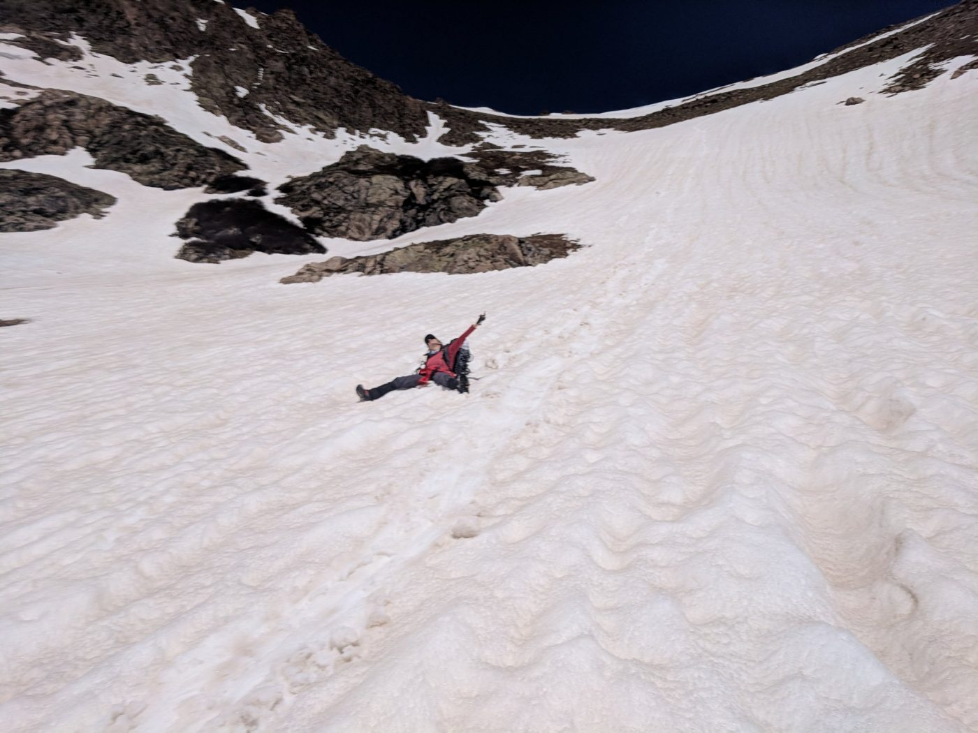 Citadel to Pettingell traverse trip report