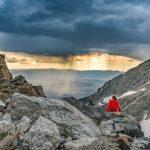 climbing the grand teton corbet high camp