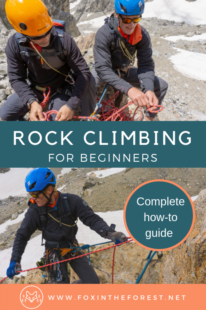 Tips and tricks for beginner rock climbers. Learn how to rock climb. The complete guide to rock climbing for beginners. #rockclimbing #climbing #outdoors