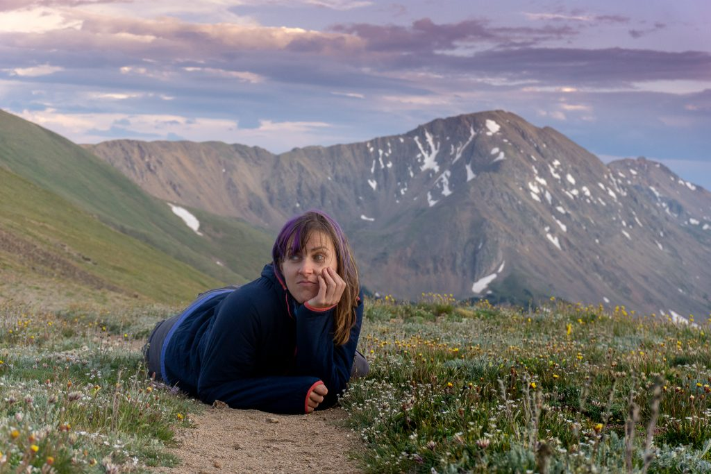 dealing with a knee injury as a hiker