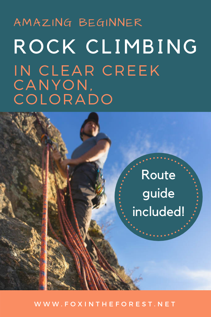 Clear Creek Canyon offers excellent rock climbing right near Denver. Great beginner outdoor climbing routes near Denver. A guide to climbing near Denver, Colorado. Sport climbing routes for beginners near Denver, Colorado including multi-pitch sport climbing. #climbing #denver #rockclimbing #sportclimbing