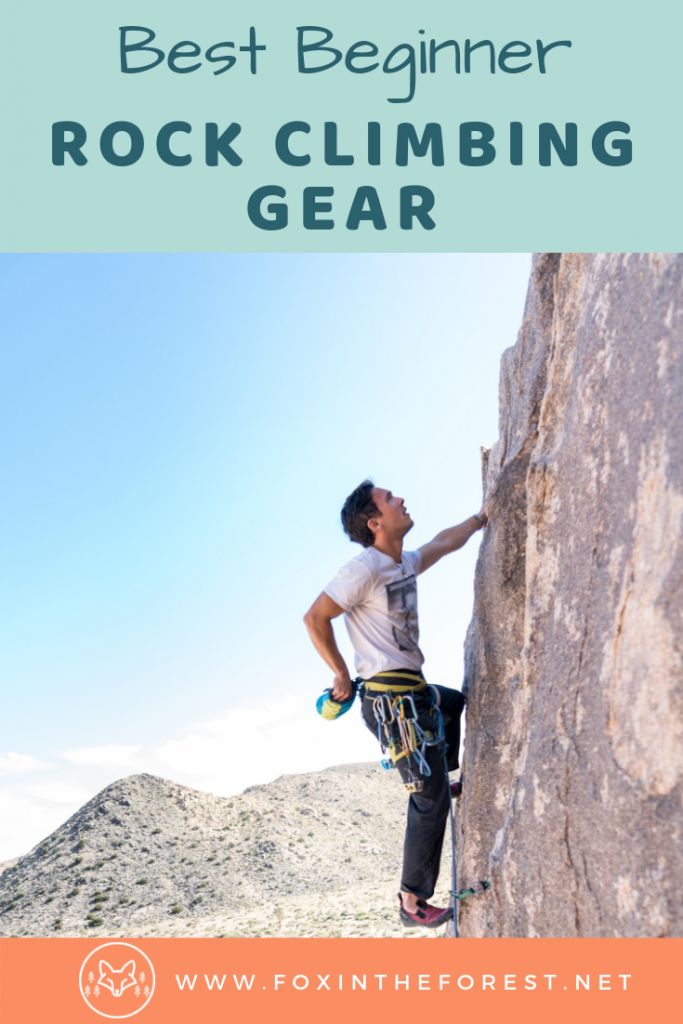 The best rock climbing gear for women and men. Outdoor and indoor rock climbing gear. How to choose rock climbing gear. Rock climbing gear list. #rockclimbing #fitness #outdoors