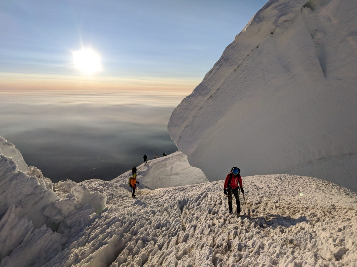 best mountain climbs in the us mount rainier