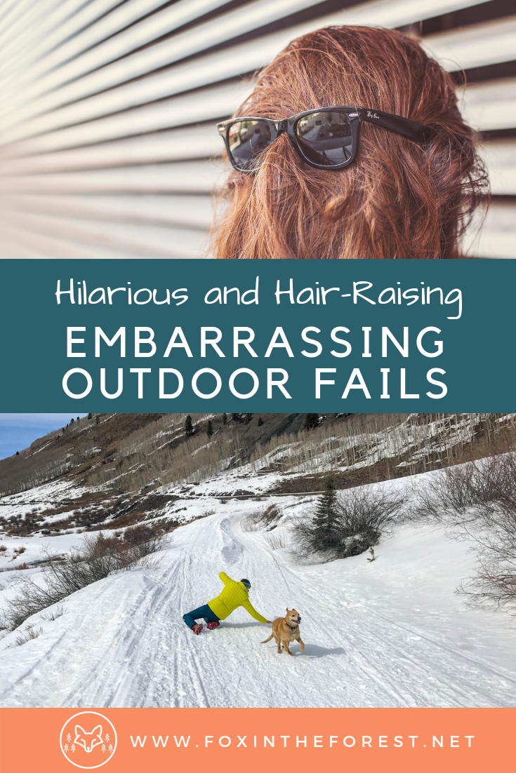 Funny and hair raising stories in the outdoors. Embarrassing outdoor fails. Behind the scenes of an outdoor writer and photographer. Hilarious stories. #entertainment #fails #travel #outdoors #hiking