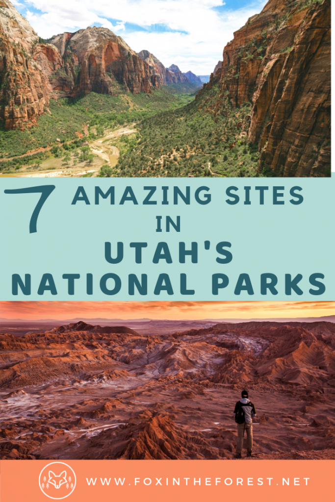 Bucket list things to do in Utah National Parks. Amazing things to do in Arches, Zion, Capitol Reef, Canyonlands and Bryce National Park. Utah national park with kids. Travel and itinerary ideas for the Mighty Five National Parks. #travel #camping #outdoors #adventure