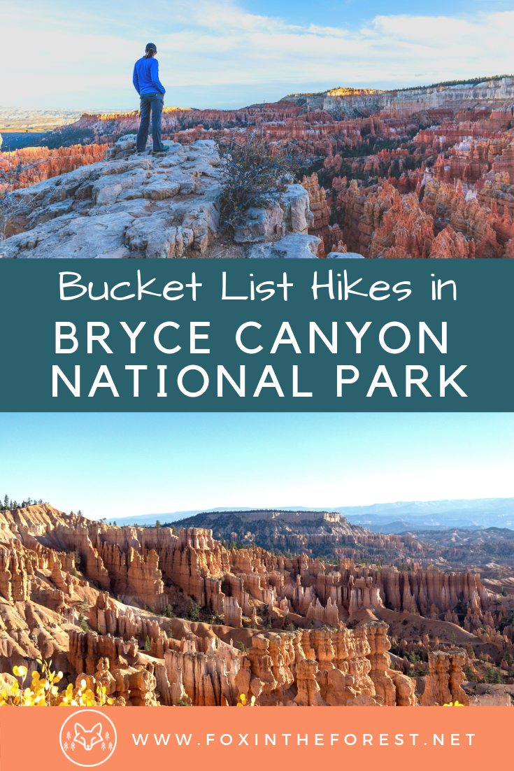 Complete 1-day itinerary for Bryce Canyon National Park. What to see in Bryce Canyon National Park. Best views and hikes in Bryce Canyon National Park. #hiking #camping #nationalparks #travel #utah
