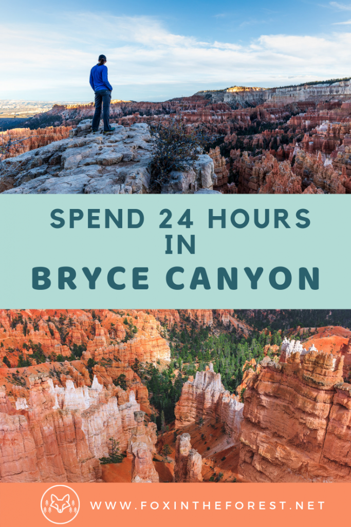 One day itinerary for Bryce Canyon National Park. Best hikes and kid-friendly hikes in Bryce Canyon. Camping in Bryce Canyon National Park, Utah. Best photography hikes in Bryce Canyon. #hiking #nationalparks #camping #usa