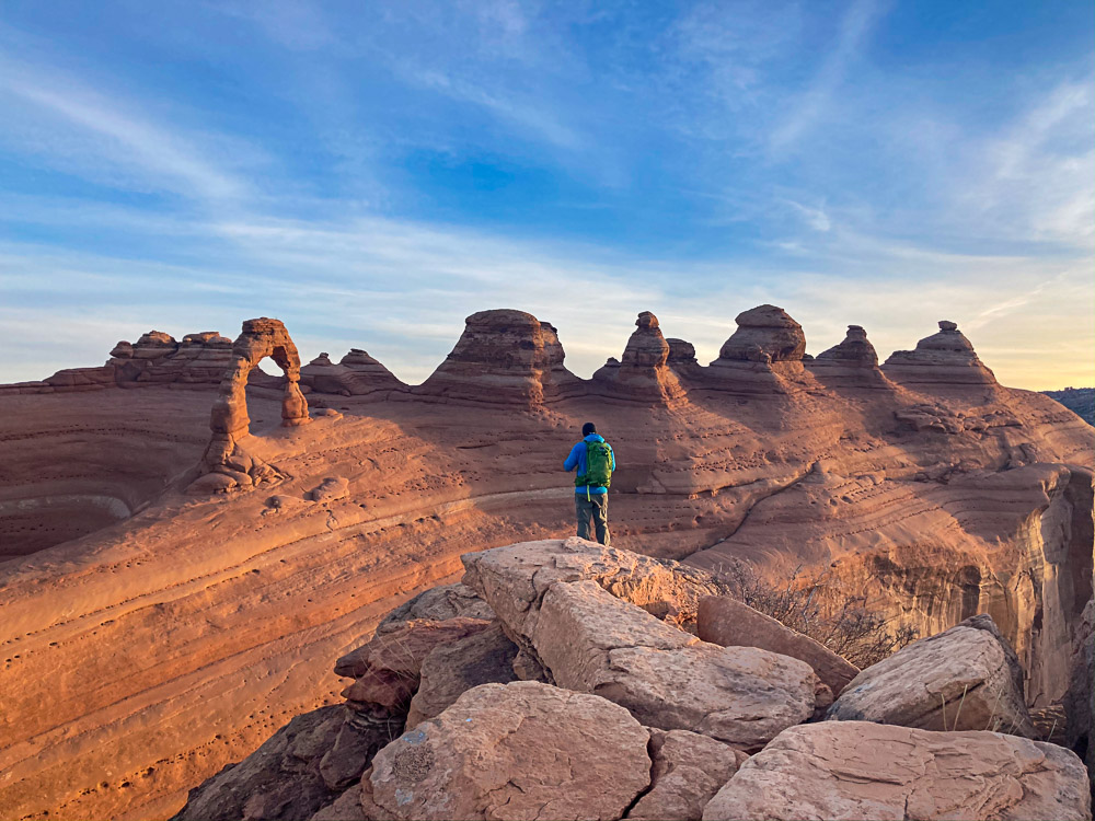 best hikes in arches