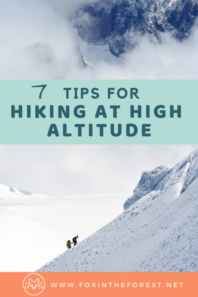 How to prevent altitude sickness. Altitude sickness remedies. Prepare for a hike at high altitude. High altitude hiking tips. Altitude sickness safety. Tips for hiking in the mountains. #hiking #outdoors #trekking #mountains