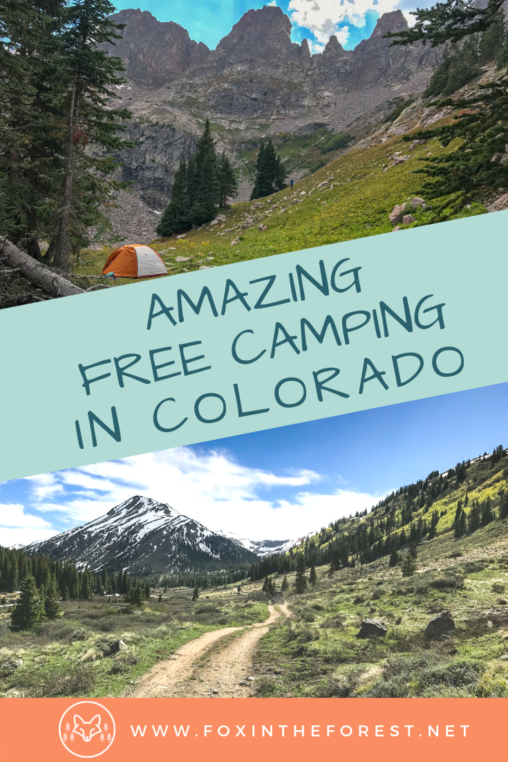 Guide to free camping near Denver, Colorado, USA. Free camp sites in the Rocky Mountains of Colorado. Where to camp in Colorado. Guide to camping near Denver, Colorado. #camping #colorado #outdoors #travel