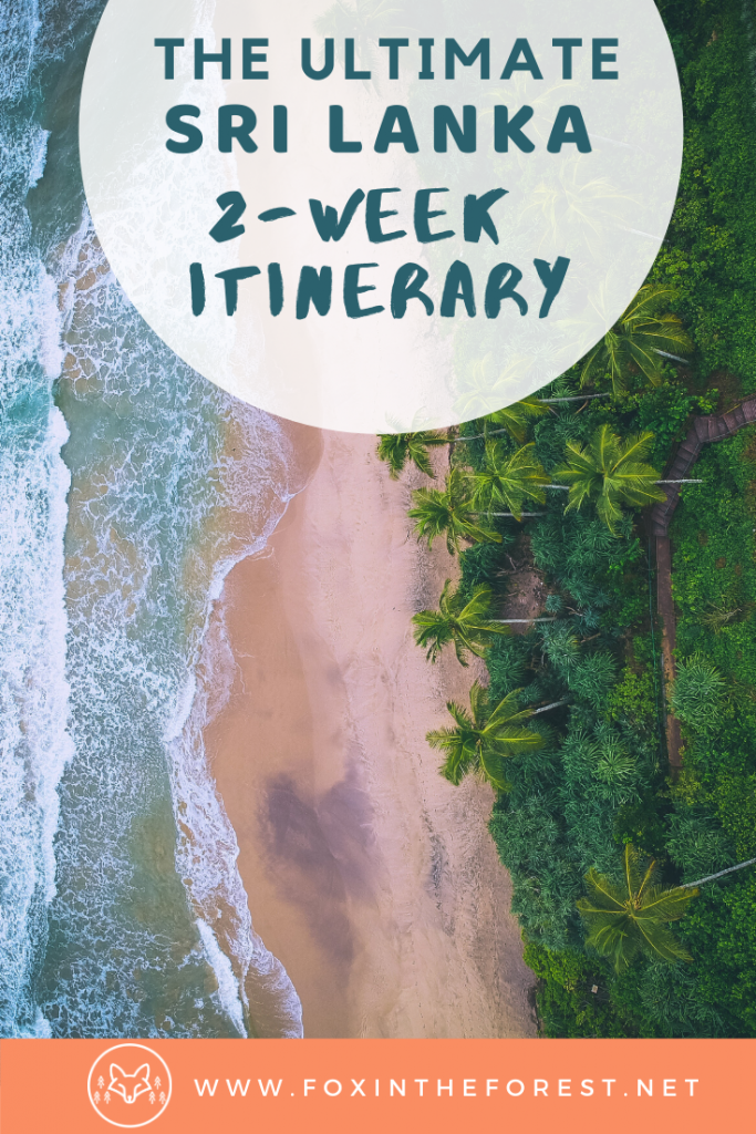 The best things to do in Sri Lanka. A 2 week travel itinerary for the best destinations in Sri Lanka. Experience the best beaches, tea plantations, elephant safari, surf spots, train rides, and more. #asia #SriLanka #travel