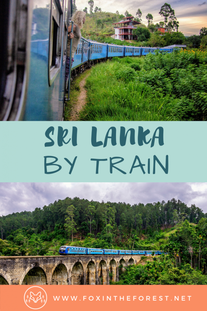 Everything you need to know to travel Sri Lanka by train. A complete guide to train travel in Sri Lanka including the Kandy to Ella train. Travel tips for railway travel in Sri Lanka. #srilanka #travel #traintravel