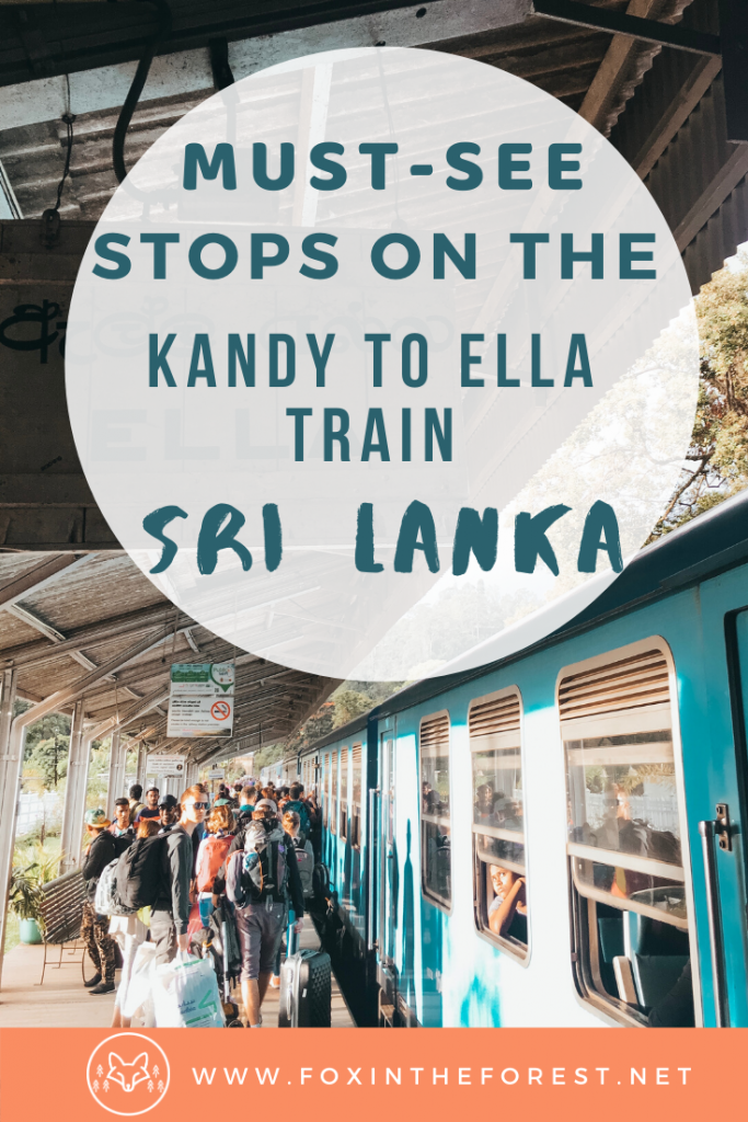 Must-see stops along the Kandy to Ella train. The most beautiful places in Sri Lanka including amazing photography in Sri Lanka including tea country. Where to go in Sri Lanka and how travel to Ella by train. Amazing things to do in Sri Lanka. #travel #SriLanka #traintravel