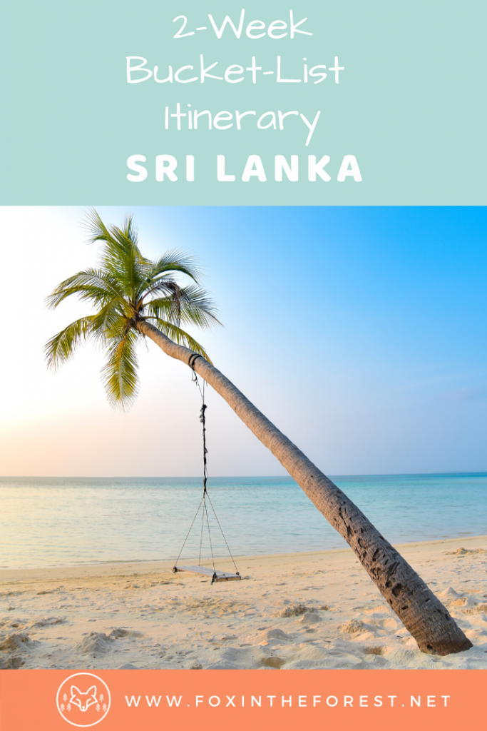 The best things to do in Sri Lanka with 2 weeks. A 2-week travel itinerary to Sri Lanka including safari destinations, the best Sri Lankan beaches, photo destinations, hiking, tea plantations, train rides and more. #travel #SriLanka #Asia