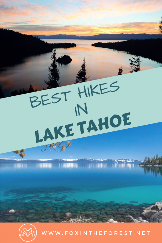 Best hiking trails in Lake Tahoe, California. Guide to hiking in Lake Tahoe, Nevada. Best hikes in Lake Tahoe Basin. Amazing views and hikes in Lake Tahoe. Bucket list hikes in Lake Tahoe. Amazing things to do in Lake Tahoe. #hiking #California #travel #USAtravel