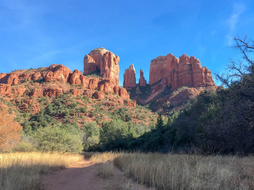 Cathedral Rock Trail best sedona hiking trails