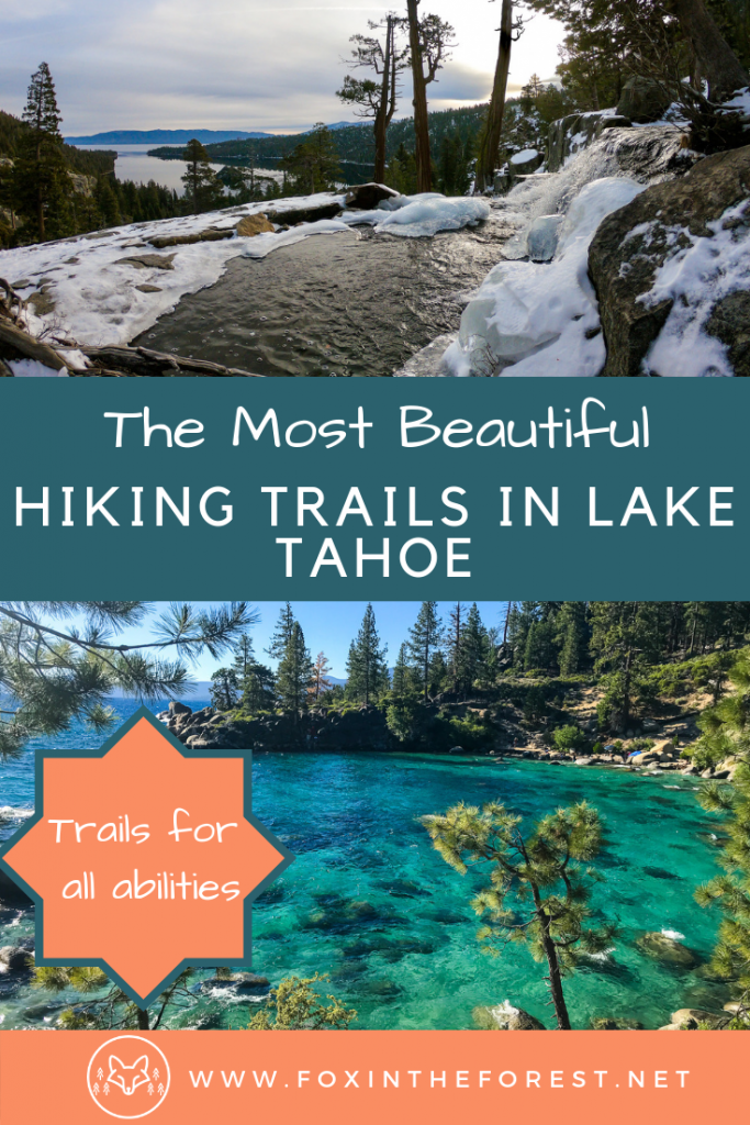 The best hikes in Lake Tahoe for any ability. Excellent hiking in Lake Tahoe. Local's guide to hiking in Lake Tahoe, California and Nevada. #hiking #LakeTahoe #california #nevada #outdoors