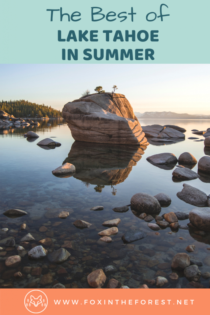 Things to do in Lake Tahoe this summer. Family-friendly outdoor activities in Lake Tahoe. Bucket list activities in Lake Tahoe. Travel to Lake Tahoe, California. Destination guide Lake Tahoe, Nevada. #california #travel #outdoors #hiking #USA