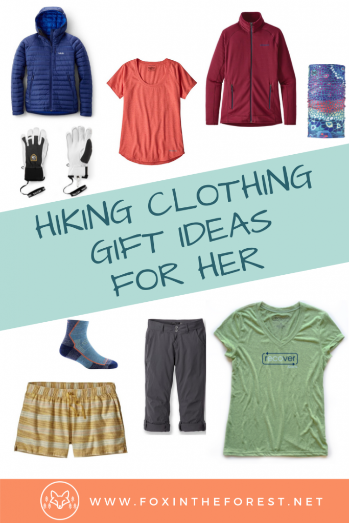 Best hiking gifts for her. Hiking gift ideas for her. Best hiking clothes for her. Women's hiking clothes. Best women's hiking clothes for women. What to wear hiking for women. Winter and cold weather mountain outfits for fall and winter. #hiking #women #giftideas