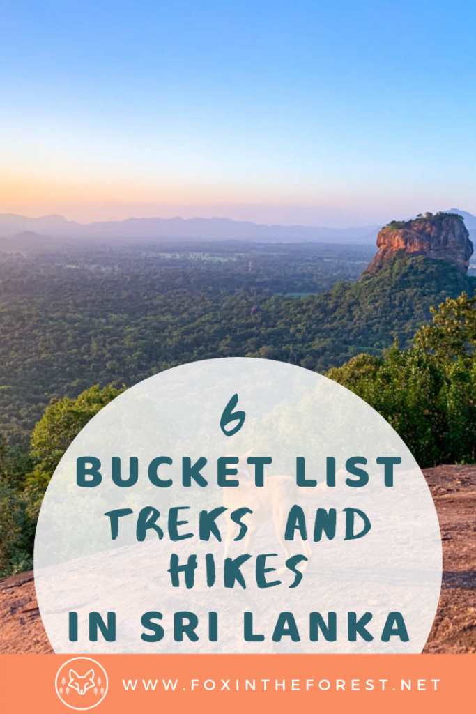 The best treks in Sri Lanka. A guide to Sri Lanka's best hikes including Adam's Peak, Ella Rock, Horton Plains and more. Amazing hiking and trekking in Sri Lanka. #hiking #travel #srilanka
