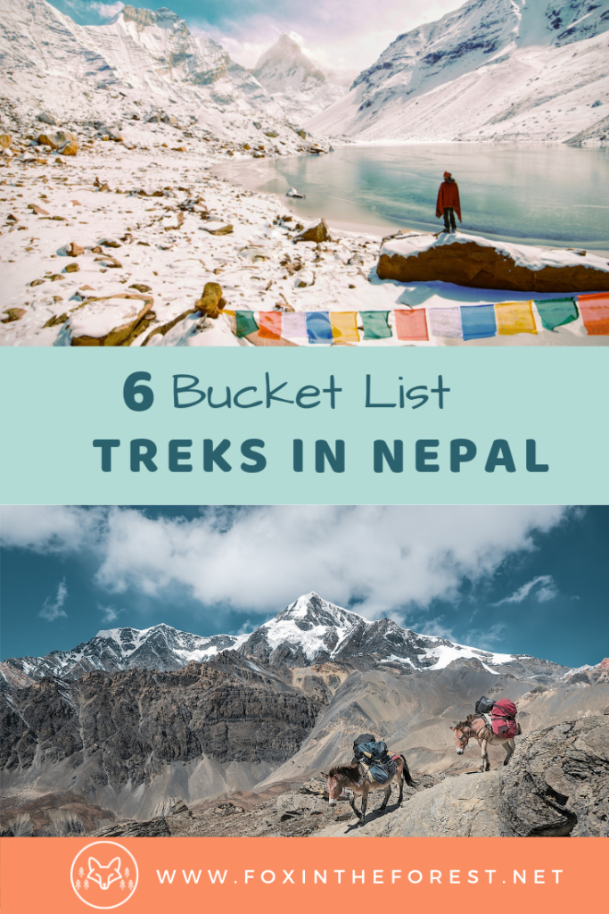 The best treks in Nepal. Amazing trekking destinations in the Himalaya. Trekking trips, tips and adventure travel in Nepal. Beautiful Himalayan treks. Bucket list travel destinations. #Nepal #hiking #trekking #himalaya