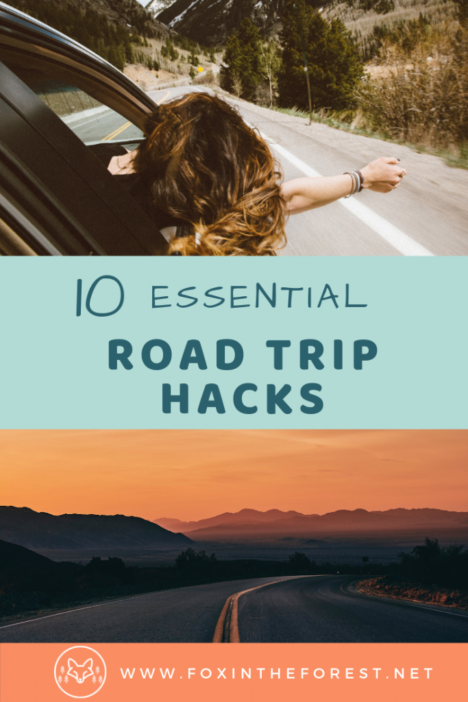 Road trip planning essentials. Tips, tricks, and hacks for a USA road trip. What to pack for a road trip. #travel #usa #roadtrip