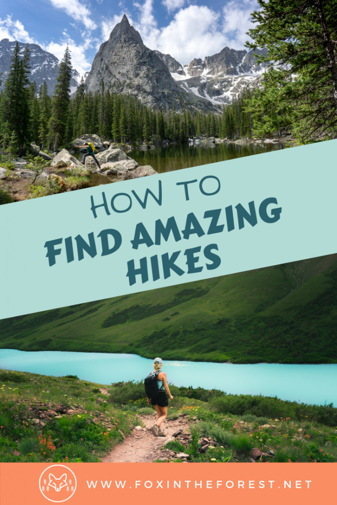 How to find the best hiking trails. Where to find hiking trails near me. Tips and tricks for finding hiking trails. Hiking trail research hacks. Best hiking trail resources. #hiking #outside #travel