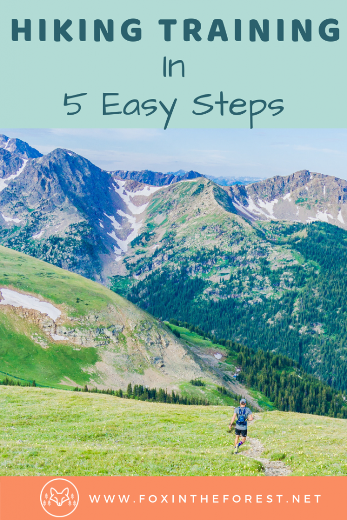 Hiking fitness training tips. Exercise and hiking for weight loss. Outdoors training tips for hiking and backcountry camping. Running, hiking, and training for backpacking #outdoors #fitness #wellness